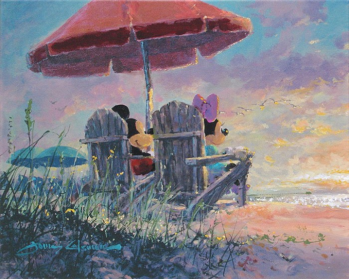 James ColemanOur SunsetGiclee On Canvas