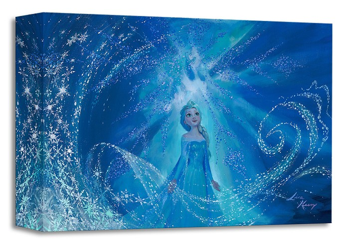 Lisa Keene One With the Wind and Sky From The Movie Frozen Gallery Wrapped Giclee On Canvas