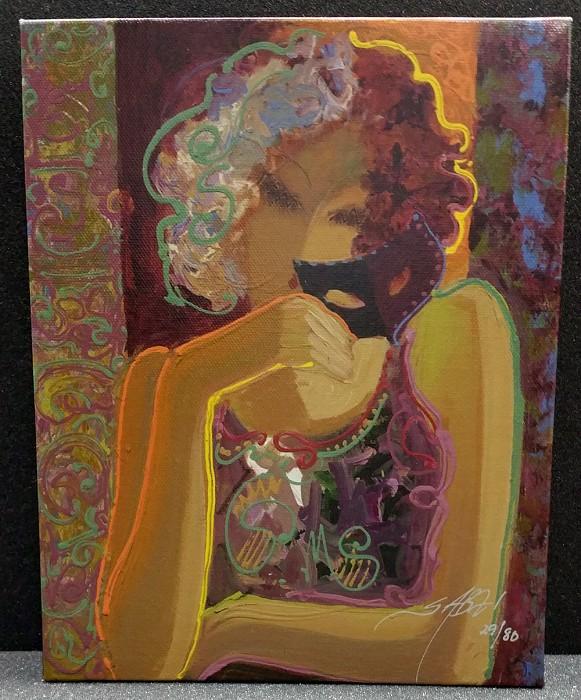 SabziPoetic Mystery 4Giclee On Canvas