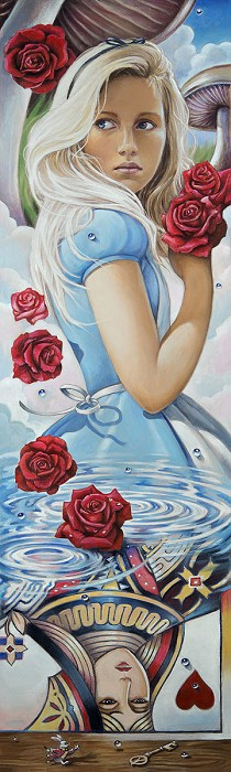 Edson CamposReflections of WonderlandGiclee On Canvas
