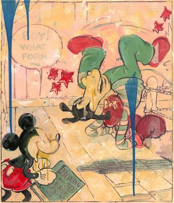 Jim SalvatiRingsideHand-Embellished Giclee on Canvas