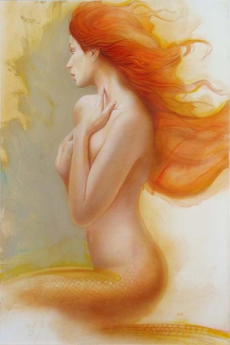 John RoweSEA PRINCESSOriginal Oil on Canvas