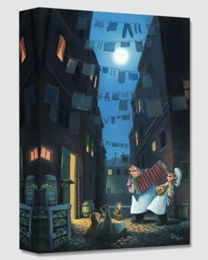 Rob Kaz  Serenade of the Heart From Lady And The Tramp Gallery Wrapped Giclee On Canvas