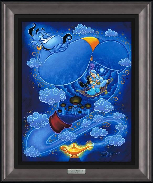 Tim RogersonI Dream of GenieGiclee On Canvas