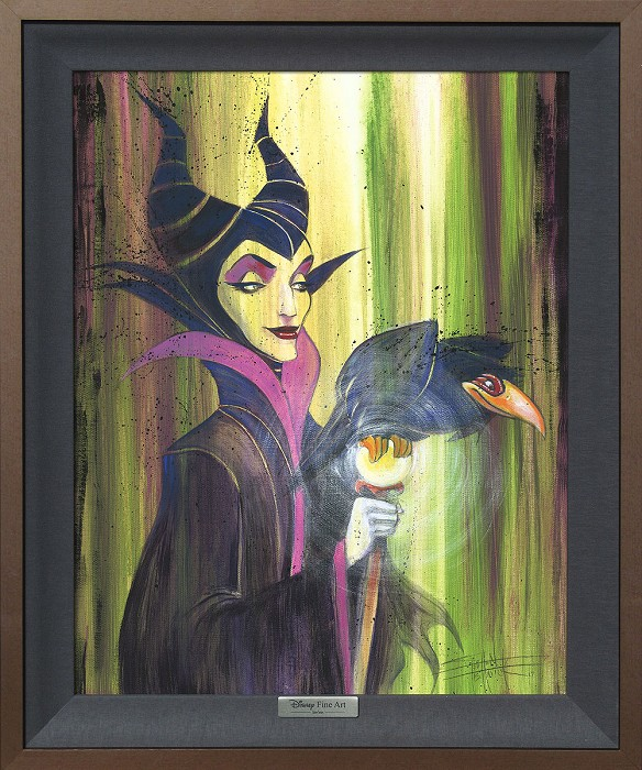 Stephen FishwickMaleficent the WickedGiclee On Canvas