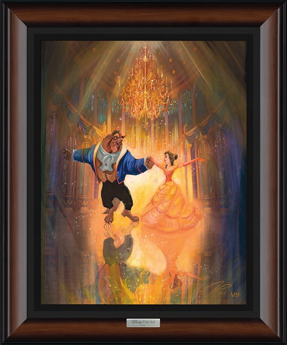 John Rowe The Perfect Dance Giclee On Canvas