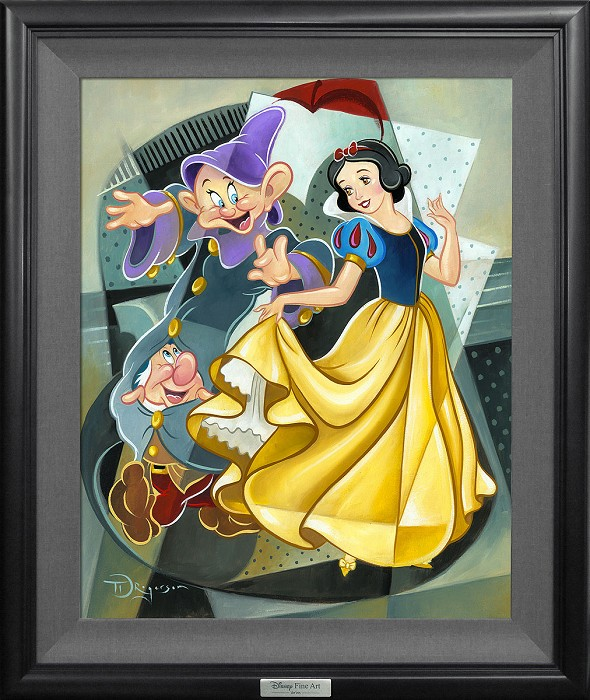 Tim RogersonThree for the Dance FramedGiclee On Canvas