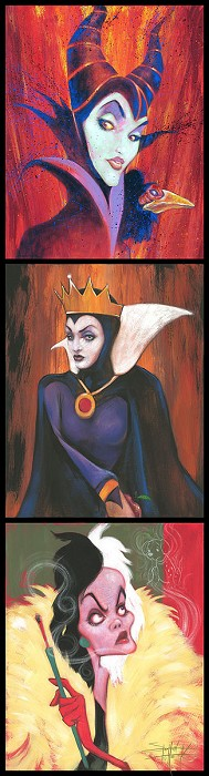 Stephen FishwickQueens of MadnessHand-Embellished Giclee on Canvas
