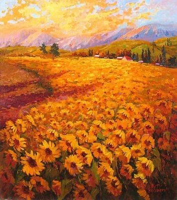 Irene Sheri Sunflowers