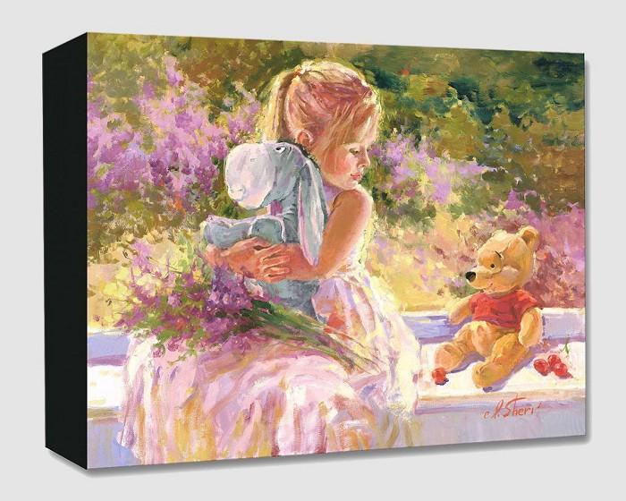 Irene SheriSunny WindowGallery Wrapped Giclee On Canvas