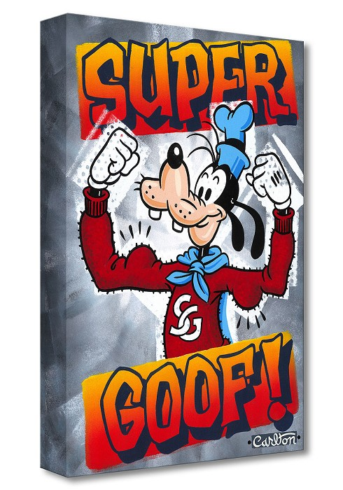 Trevor CarltonSuper Goof! From GoofyGallery Wrapped Giclee On Canvas