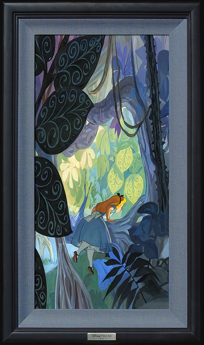 Jim Salvati Where Curiosity Grows Giclee On Canvas