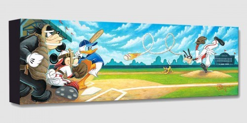 Tim RogersonSwing for the FencesGallery Wrapped Giclee On Canvas