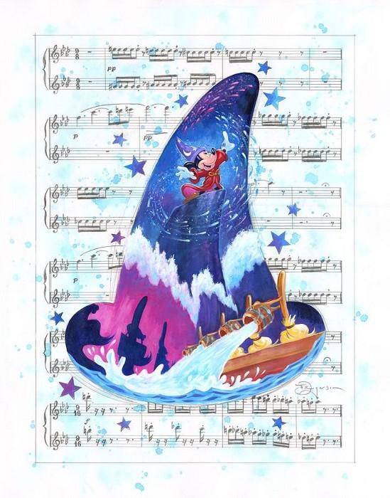 Tim RogersonA Symphony of ColorGiclee On Canvas