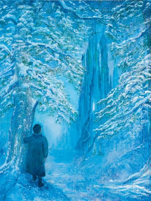 Harrison EllenshawThe Temptation Of Edmund - From Narnia ChroniclesHand-Embellished Giclee on Canvas