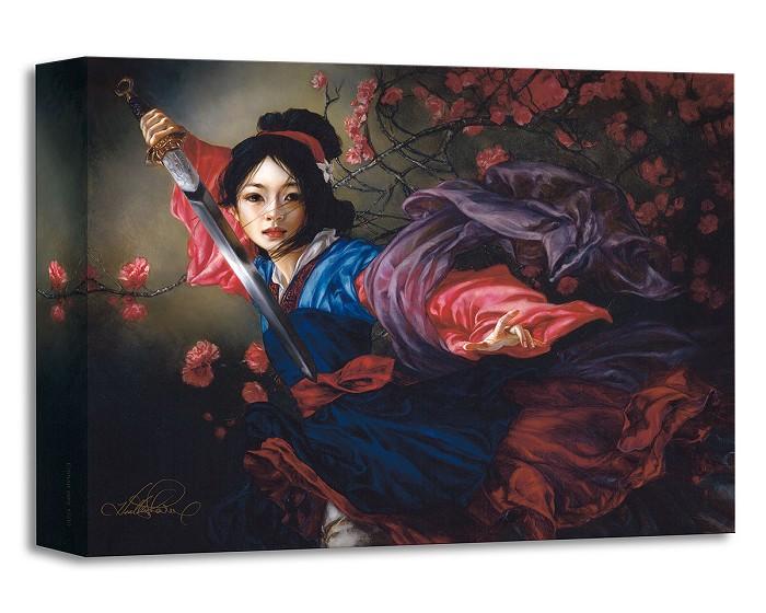 Heather EdwardsThe Elegant Warrior From MulanGallery Wrapped Giclee On Canvas