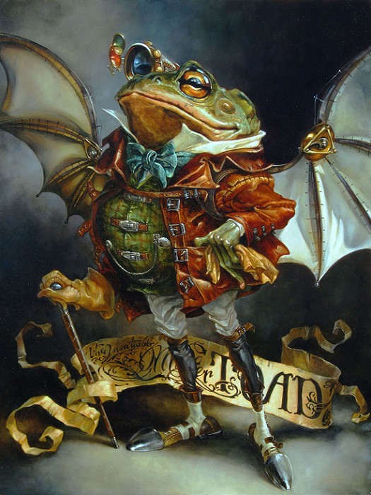 Heather Theurer The Insatiable Mr. Toad Oil On Linen