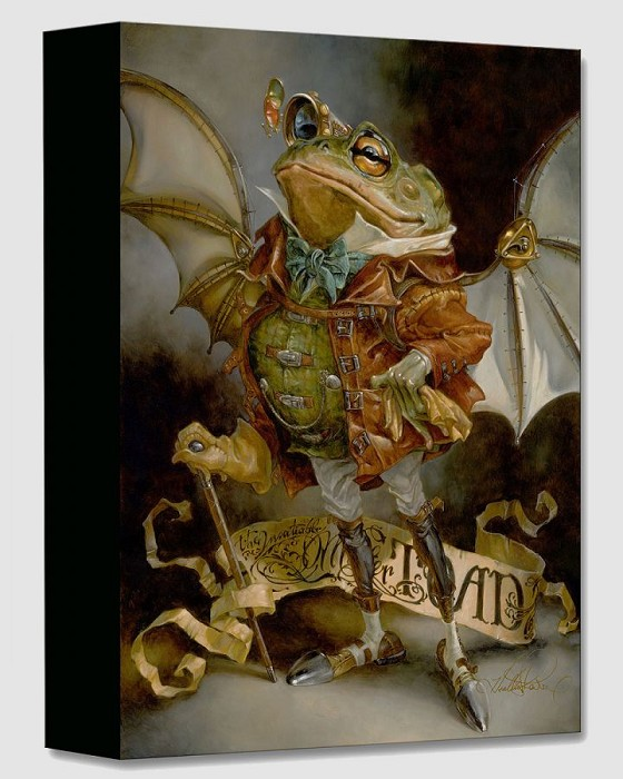 Heather Theurer The Insatiable Mr. Toad Gallery Wrapped Giclee On Canvas