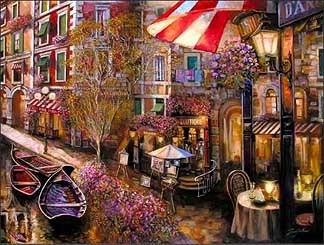 SuljakovGalleria d'Arte H/E Giclee on Hand-Textured Canvas