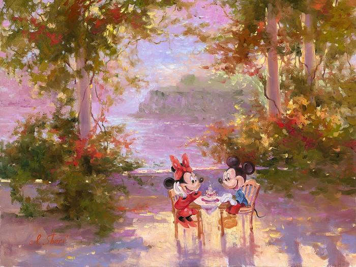 Irene SheriThe Perfect BirthdayHand-Embellished Giclee on Canvas