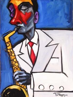 Tim RogersonIn The GrooveGiclee On Canvas