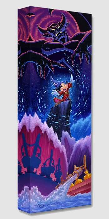 Tim RogersonTriumph of Imagination From Disney FantasiaGallery Wrapped Giclee On Canvas