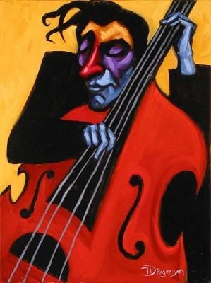 Tim RogersonFeelin The LoveGiclee On Canvas