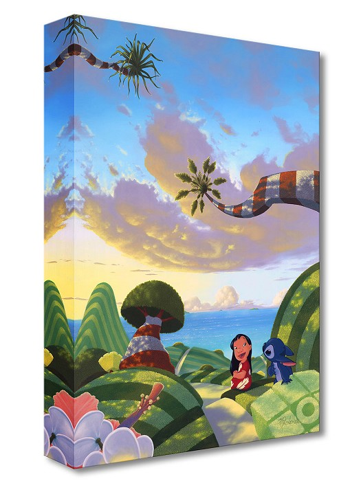 Michael ProzenzaA Tropical IdeaGallery Wrapped Giclee On Canvas