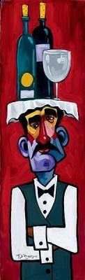 Tim RogersonI'm WaitingGiclee On Canvas