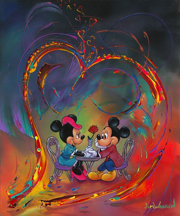 Jim WarrenEvery Day is Valentine's Day Gallery WrappedHand-Embellished Giclee on Canvas