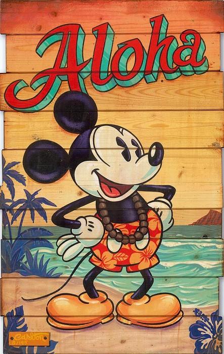 Trevor CarltonWaves of Aloha HandHand-Embellished Giclee on Canvas