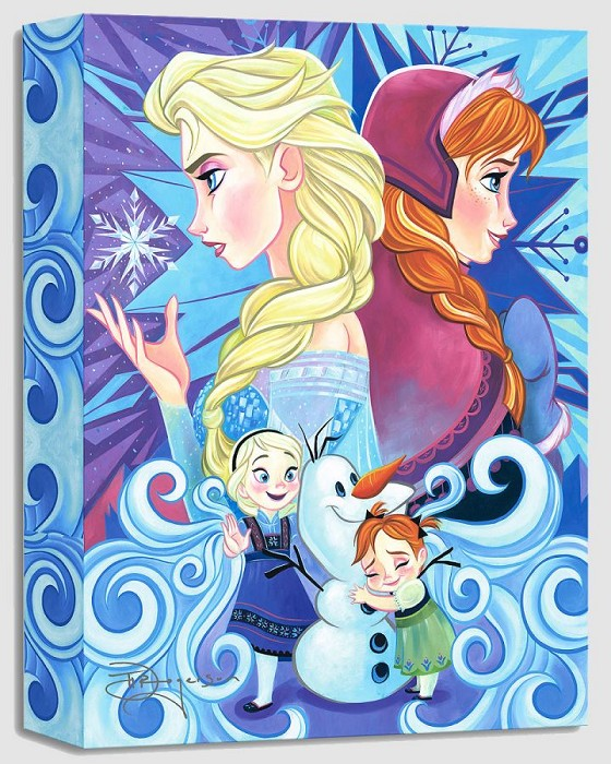 Tim Rogerson We Only Have Each Other From The Movie Frozen Gallery Wrapped Giclee On Canvas