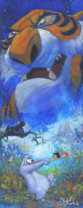 Stephen FishwickWicked BeastGiclee On Canvas