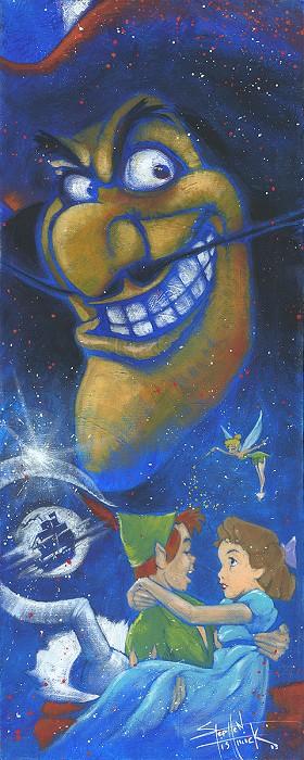 Stephen FishwickWICKED CAPTAINOriginal Oil on Canvas