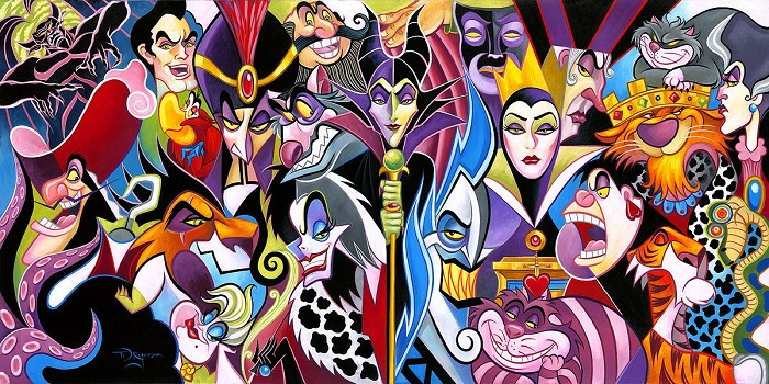 Tim RogersonAll Their Wicked WaysHand-Embellished Giclee on Canvas