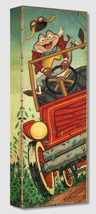 Trevor Carlton The Wild Ride From Fantasy Land Gallery Wrapped Giclee On Canvas