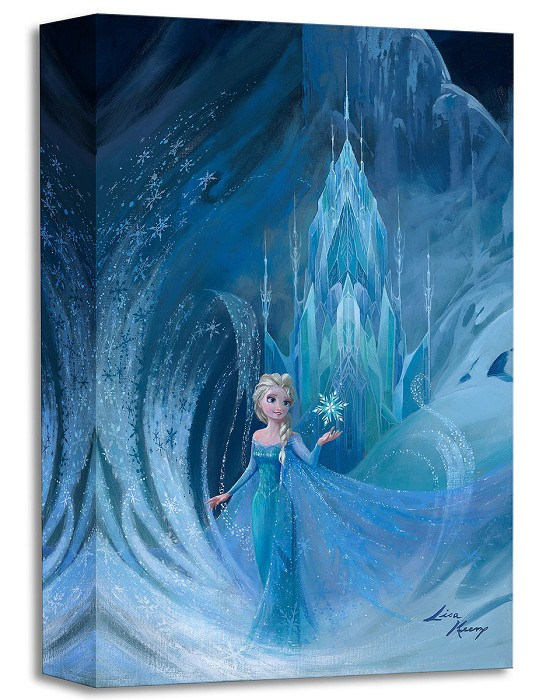 Lisa Keene Well Now They Know From The Movie Frozen Gallery Wrapped Giclee On Canvas