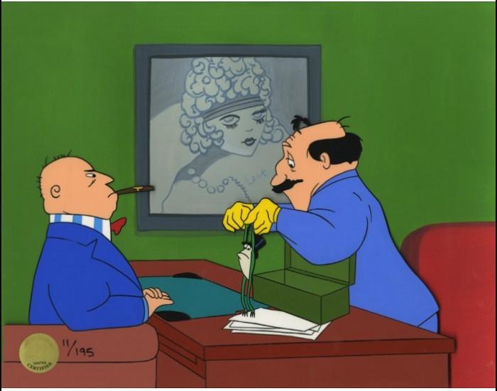 Chuck JonesOne Froggy Evening--1955Sericel