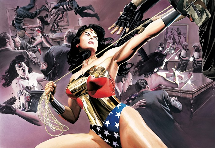 Alex Ross Wonder Woman Defender of Truth Giclee On Paper