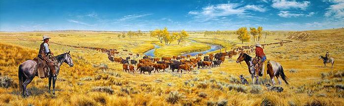 Bob CoronatoNothn like the Feeln of Riden a Fine Horse MUSEUM EDITION ONCanvas
