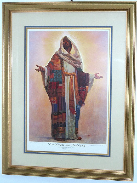 Master Peace Collection Coat Of Many Colors Limited Edition Framed