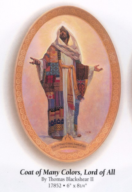 Thomas Blackshear II Coat Of Many Colors Plate