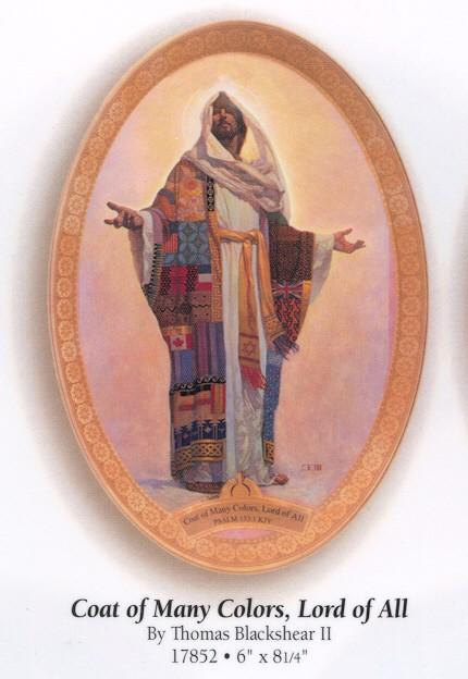 Thomas Blackshear IICoat Of Many Colors Plate
