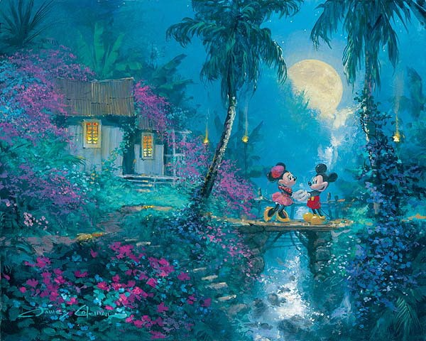 James Coleman Moonlight Proposal Giclee On Canvas