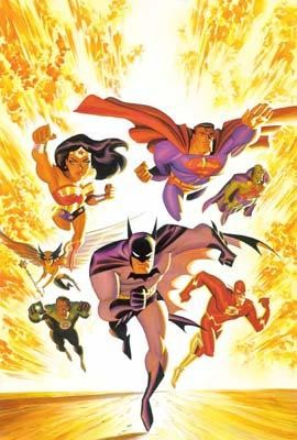 Alex RossThe New Justice League of AmericaGiclee On Canvas