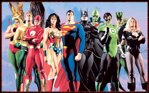 Alex Ross JLA Secret Origins Giclee On Paper