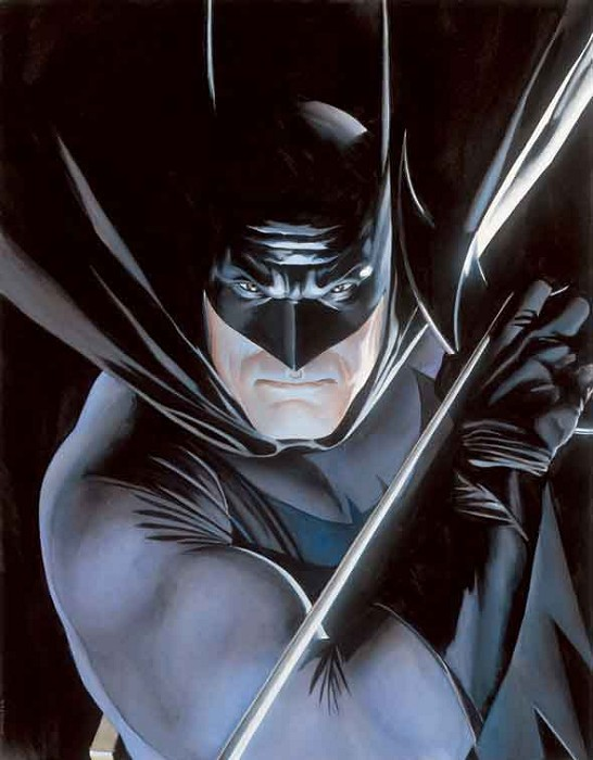 Alex Ross Batman Mythology Giclee On Paper