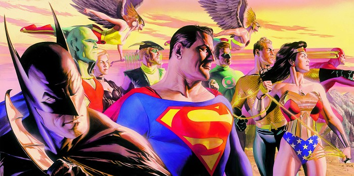 Alex Ross In the Light of Justice Giclee On Paper