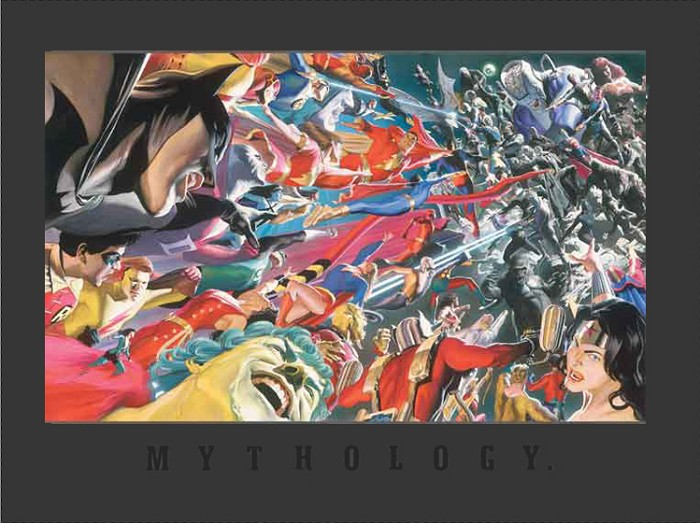 Alex Ross Mythology: Good vs. Evil Lithograph