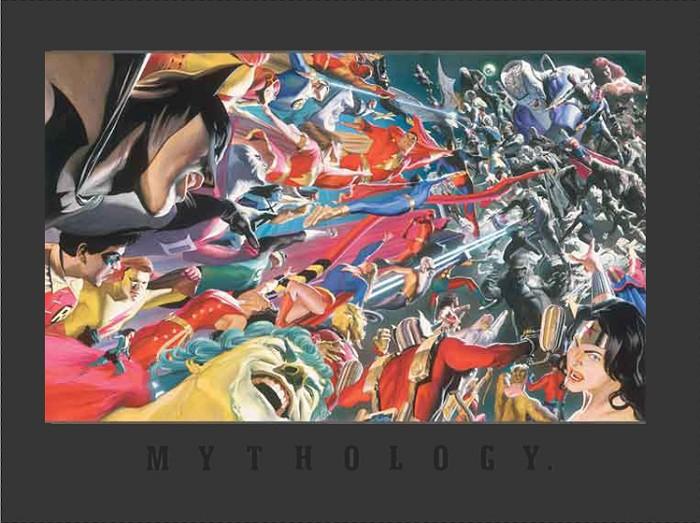 Alex RossMythology: Good vs. EvilGiclee On Canvas